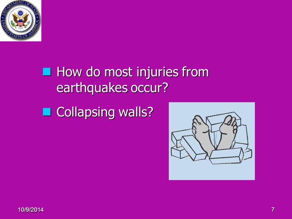 10/9/201468 Earthquake Preparedness – After The Quake (Contd.)