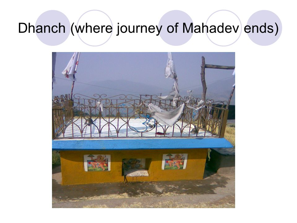 Dhanch (where journey of Mahadev ends)