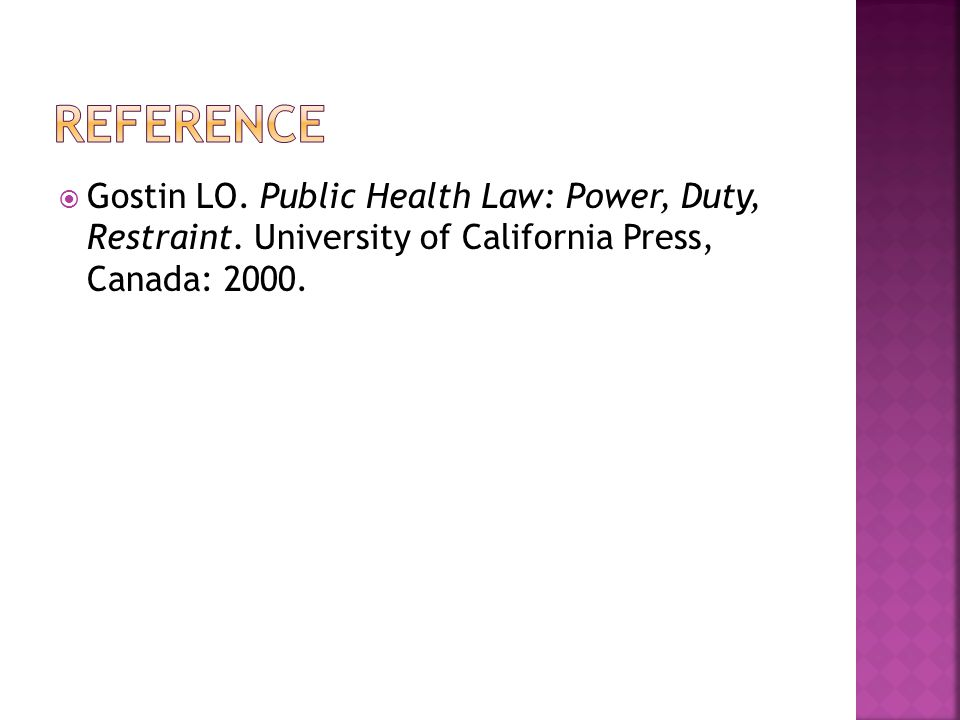  Theory and definition of public health law (PHL)  Systematic evaluation of public health regulations  Evaluation of the Philippine Tobacco Regulation Act