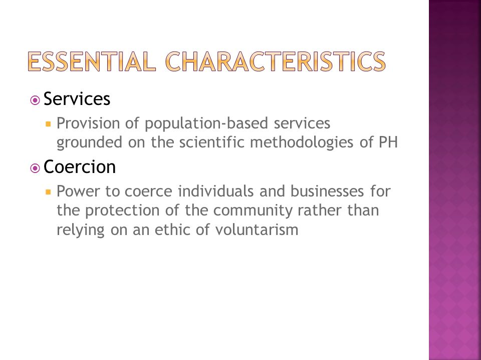  Risk to others  the 'harm principle'  Protection of incompetent persons  'best interests'  Risk to self  Self-regarding behavior  Motorcycle helmets, gambling prohibitions, fluoridation of drinking water