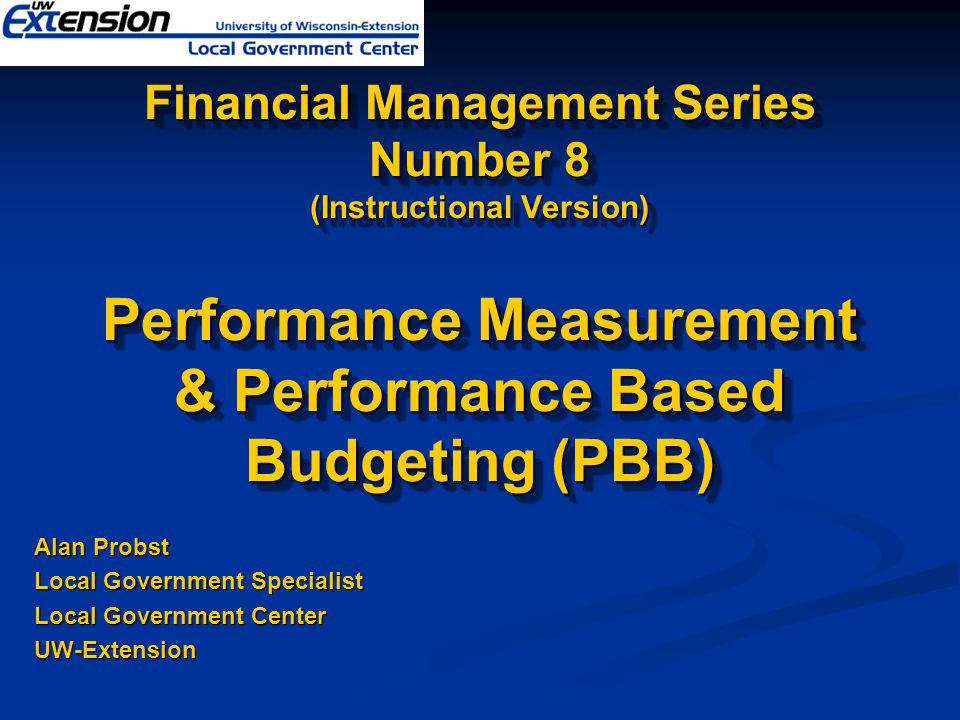 Four-Step Methodology* Step 1: Review and evaluate existing department mission and cost center goals Step 1: Review and evaluate existing department mission and cost center goals Step 2: Identify service areas Step 2: Identify service areas Step 3: Define service area objectives Step 3: Define service area objectives Step 4: Identify indicators that measure progress toward objectives Step 4: Identify indicators that measure progress toward objectives *(Fairfax County, VA Performance Measurement System)