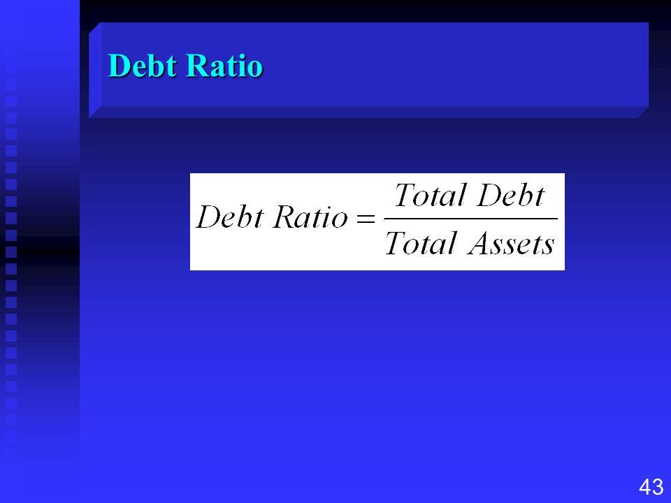 43 Debt Ratio