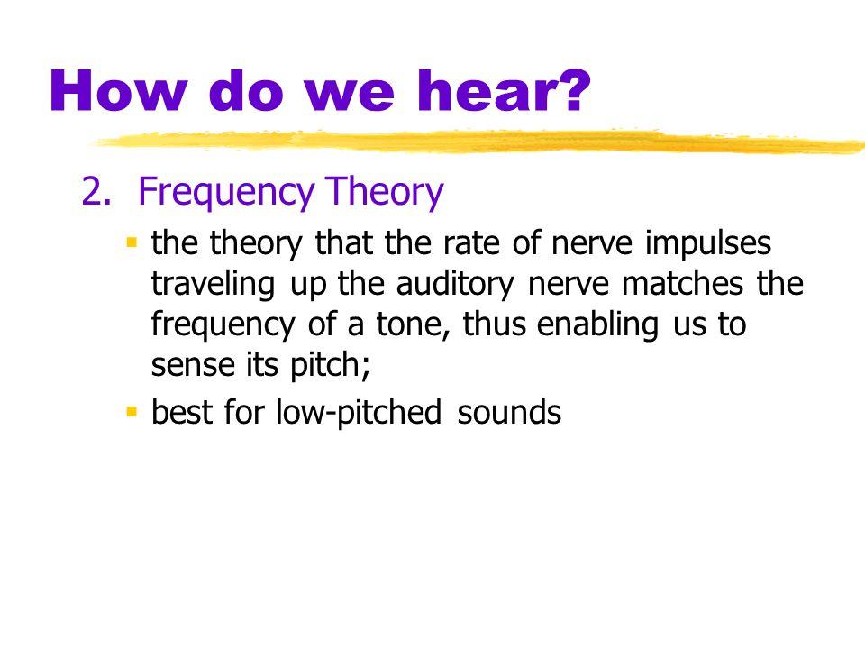 How do we hear.2.