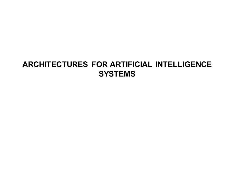 In the proposed hybrid architecture for AI system, components are defined in a modular way.