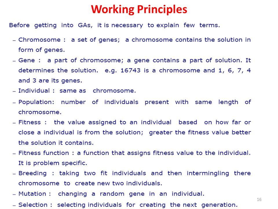 Working Principles 16