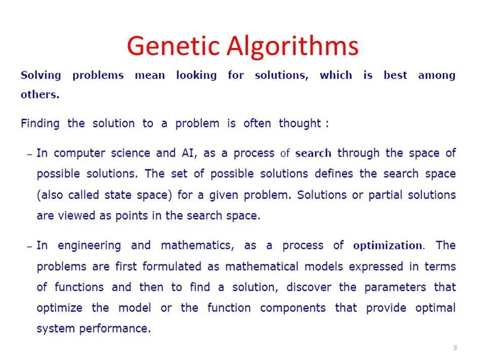 Biological Background – Basic Genetics 14