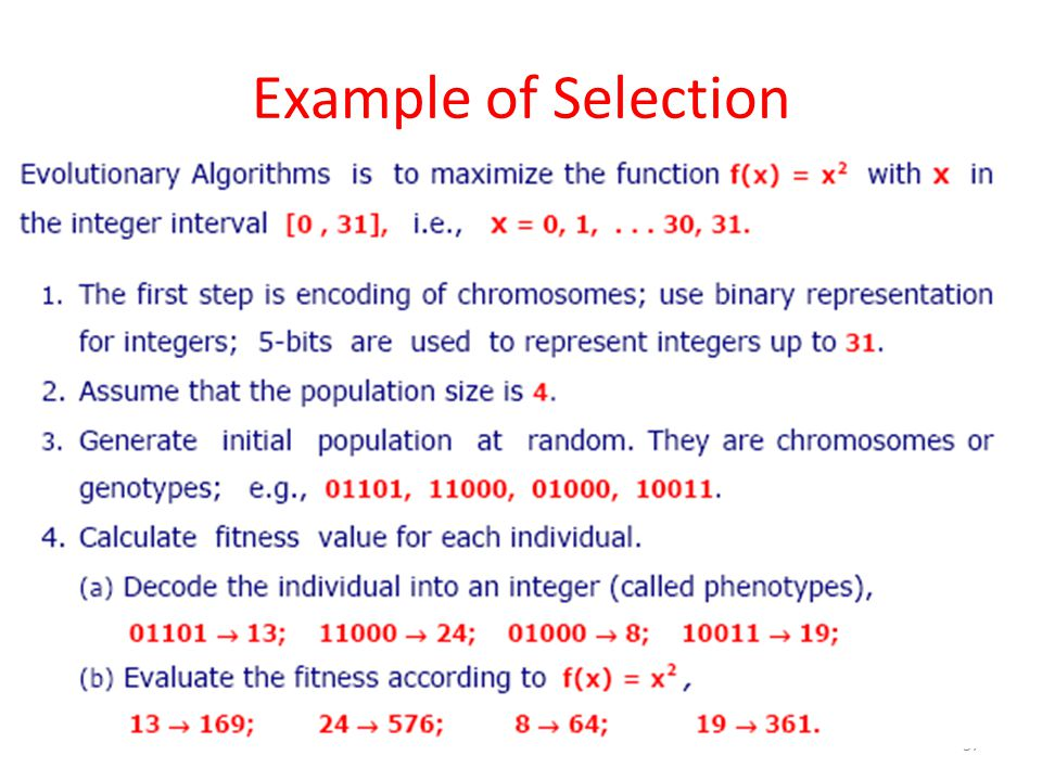 Example of Selection 37