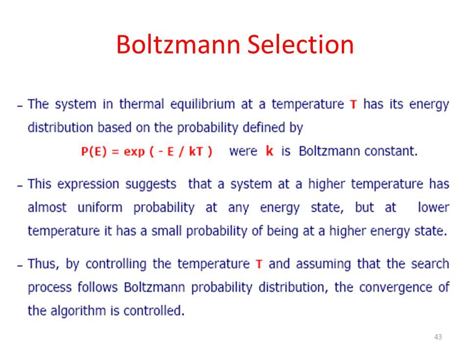 Boltzmann Selection 43