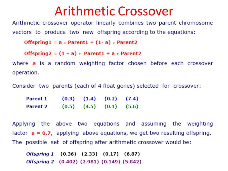 Arithmetic Crossover 48