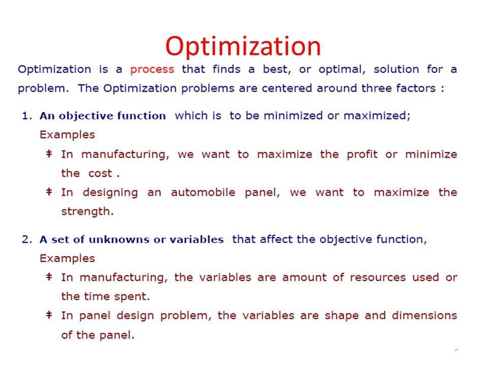 Optimization 5