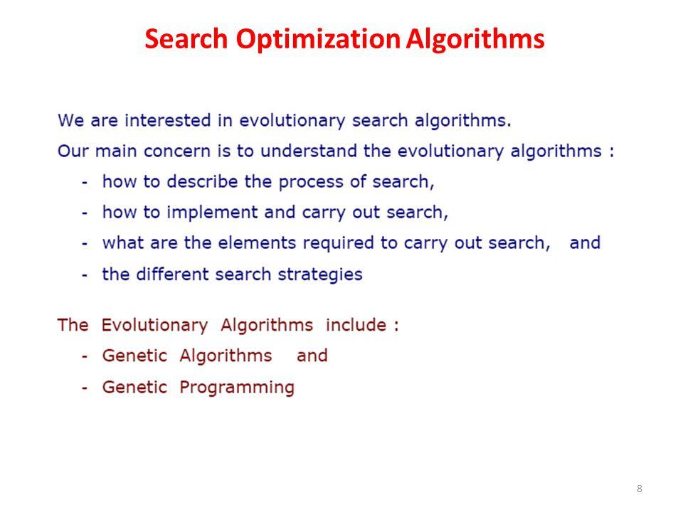 Outline of Basic Genetic Algorithm 19