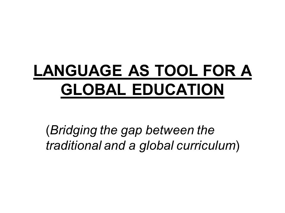INTRODUCTION What is global education.