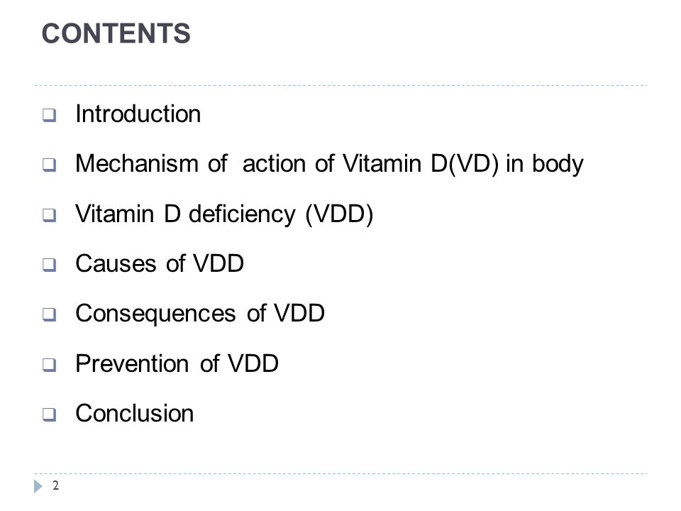 Vitamin D Deficiency (VDD) 13  Debate in the literature regarding the cut off values and criteria that appropriately define sub optimal vitamin D levels  VDD deficiency differs and difficult to compare because- - season of sample collection, - lab.