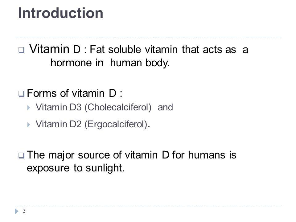 Vitamin D StatusSerum 25(OH)D level (ng/ml) Sufficient 30 ng/ml and above Insufficient 20- <30 Deficiency<20ng/ml Mild 10- <20ng/ml Moderate 5- <10ng/ml Severe <5ng/ml Cut off values to define VDD as per Lips.