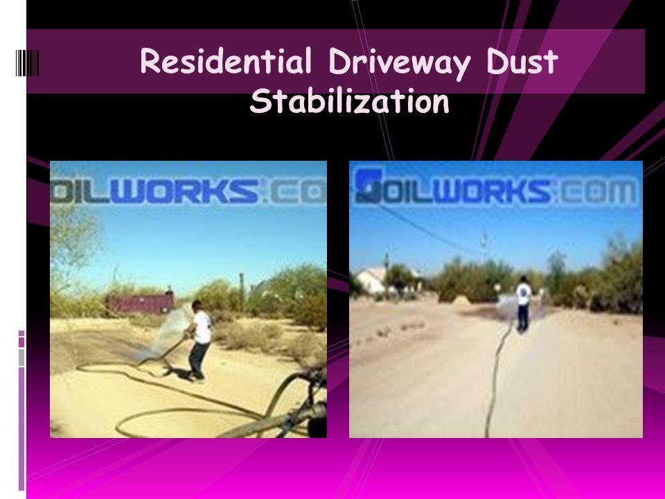 Unpaved Container Intermodal Yard Dust Suppression Treatment