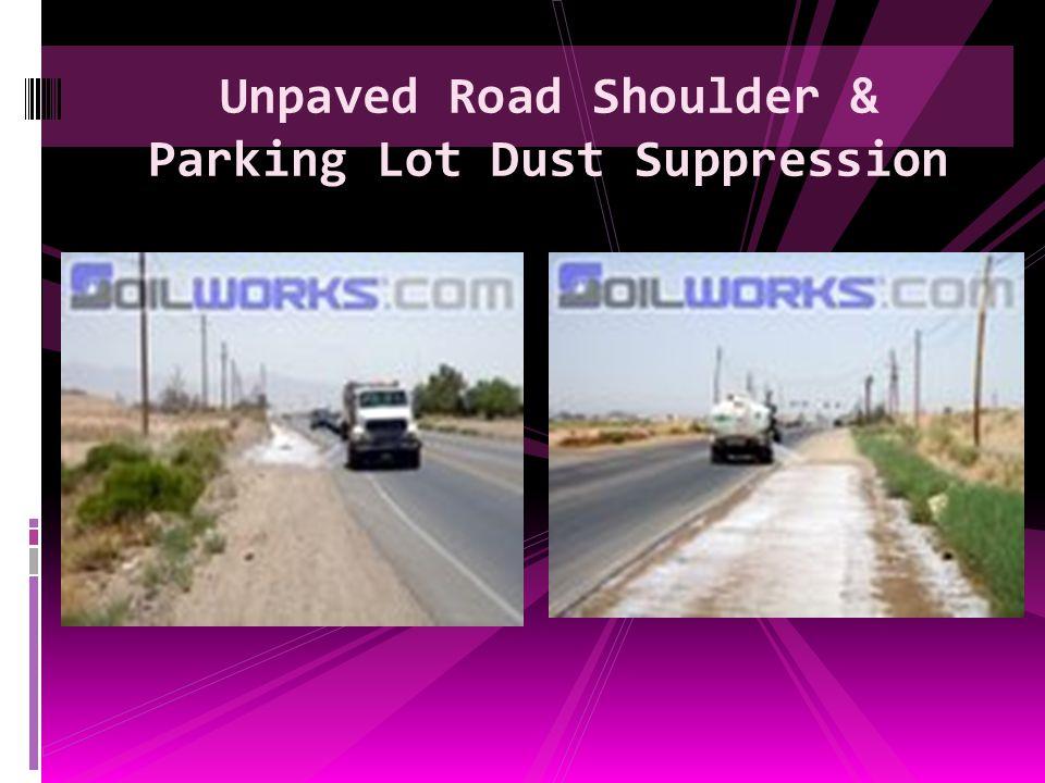 Residential Driveway Dust Stabilization