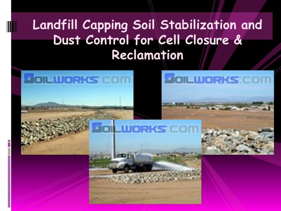 Aggregate Road Base Copolymer Stabilization & Dust Control