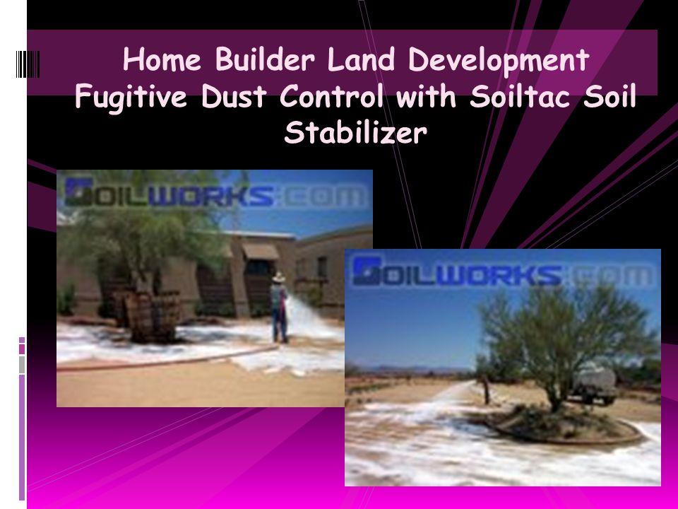Military Land Target Colorization using Black Soiltac Soil Stabilizer & Dust Control Agent