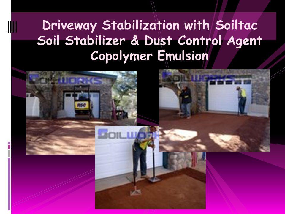 Home Builder Land Development Fugitive Dust Control with Soiltac Soil Stabilizer