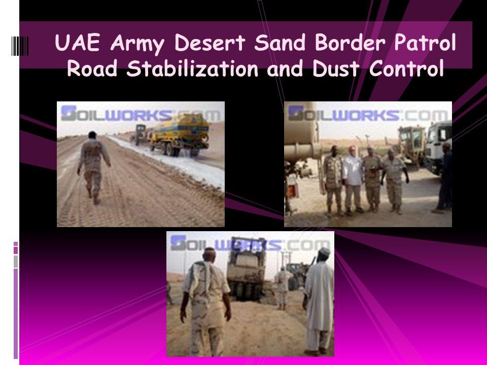 Soiltac Road Shoulder Stabilization