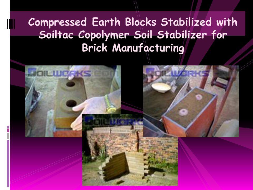 Unconfined Compressive Strength Soil Testing with Soiltac Soil Stabilizer & Dust Control Agent