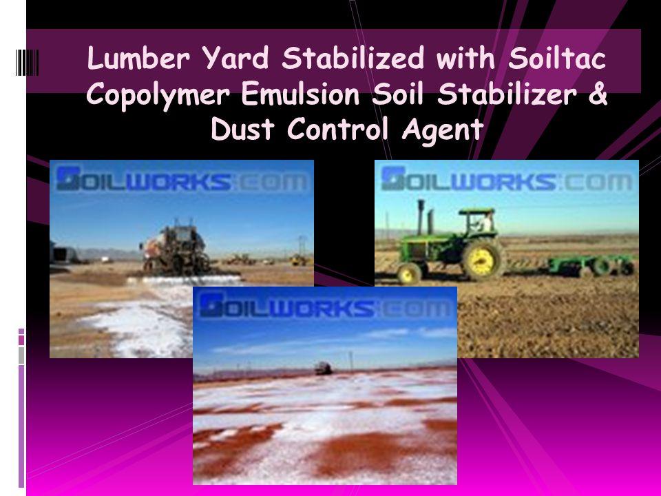 EnviroArabia 2007 Soilworks Soil Stabilization & Dust Control Product Expo & Presentations