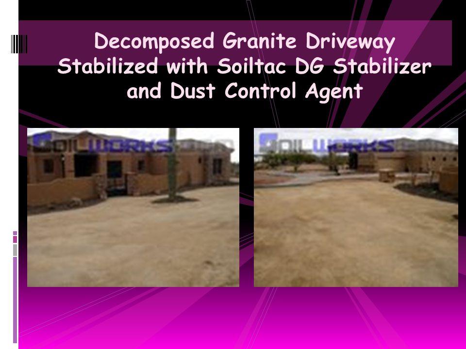 Gravel Road Base Stabilization & Dust Control Application with Soiltac Soil & Dust Stabilizer