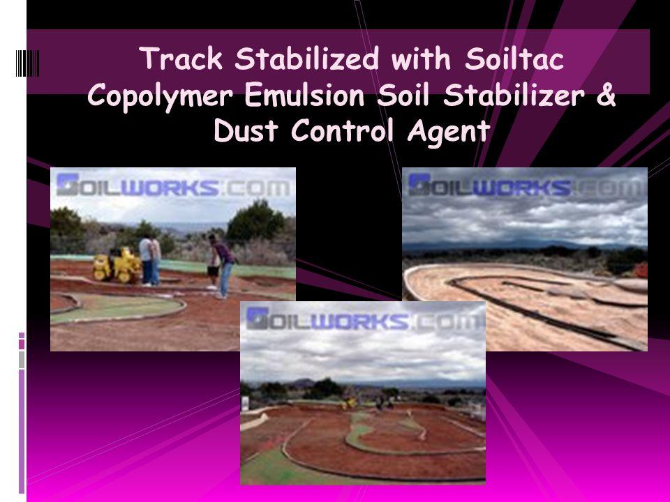 Home Builder Construction Site Dust Control with Soiltac Soil Stabilizer & Dust Control Agent