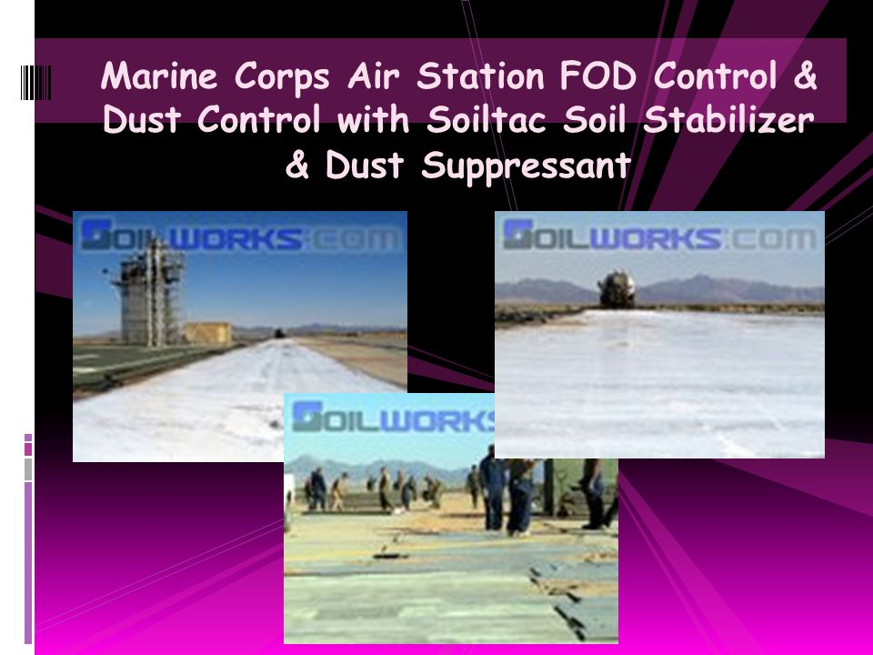 Land Development Construction Access Road Dust Control with Durasoil Dust Control Agent
