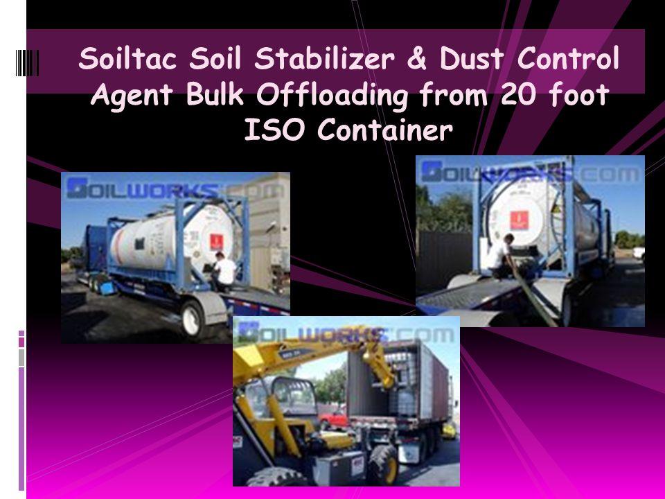 Soiltac Soil Stabilizer & Dust Control Agent Unpaved Gravel Driveway Stabilization Project
