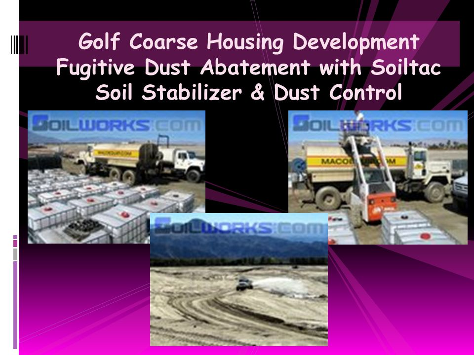 Soiltac Soil Stabilizer & Dust Control Agent Bulk Offloading from 20 foot ISO Container