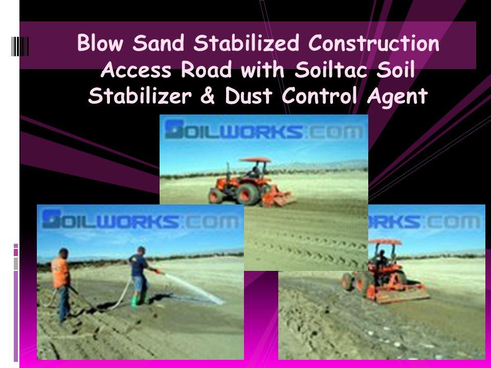Golf Coarse Housing Development Fugitive Dust Abatement with Soiltac Soil Stabilizer & Dust Control