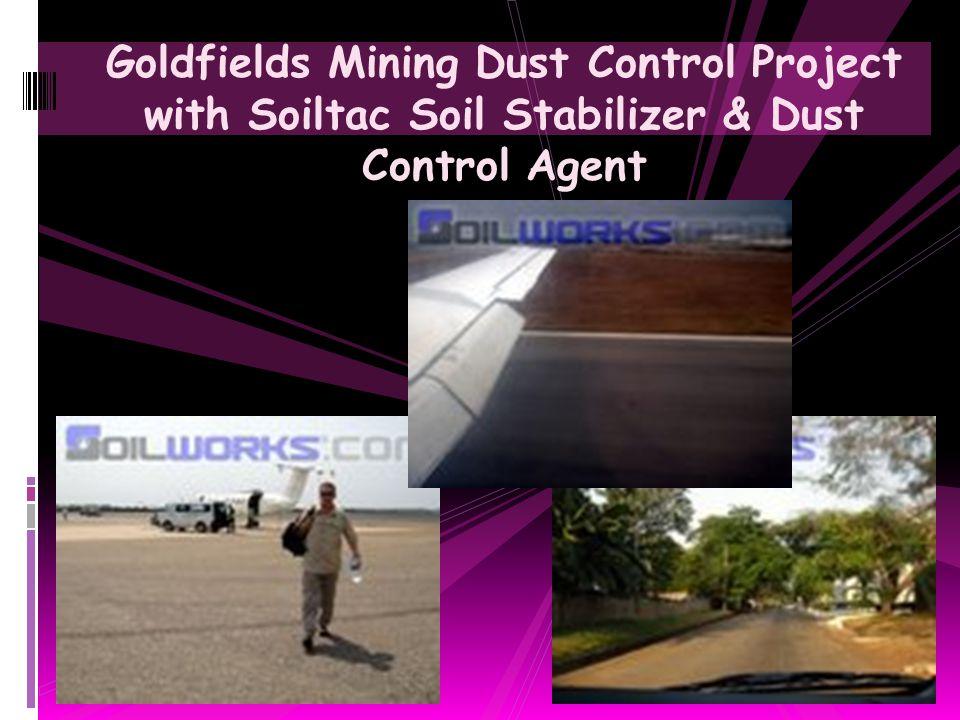 Construction Site Dust Abatement Application with Soiltac Soil Stabilizer & Dust Control Agent