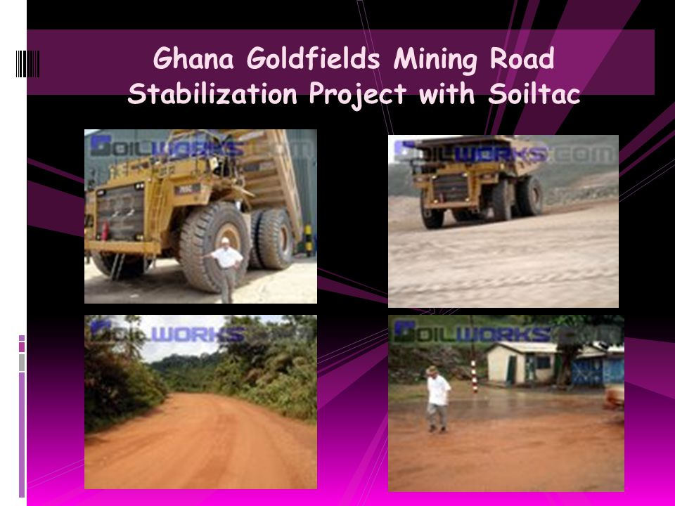 Soils Engineering Laboratory Testing of Soiltac for Mining Road
