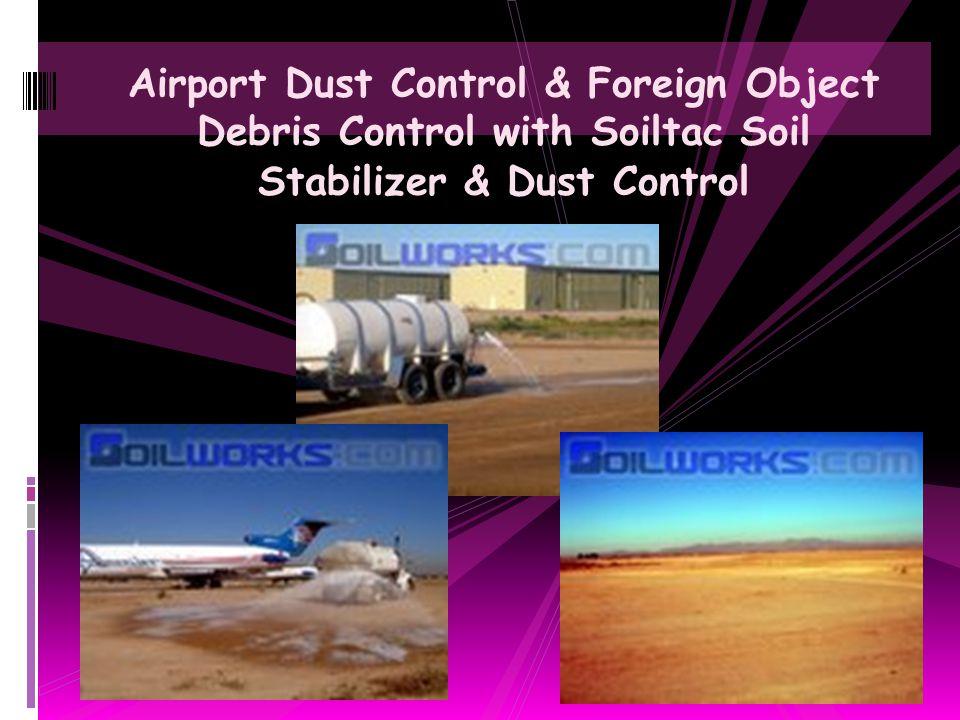Construction Site Dust Abatement Application