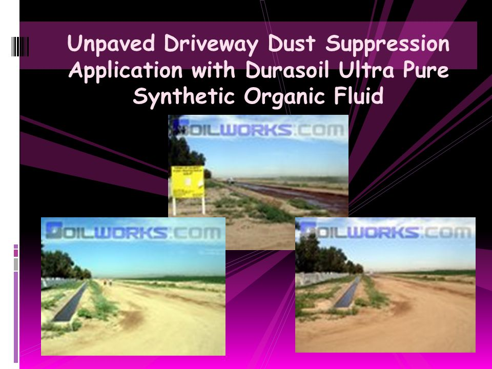 Durasoil Ultra Pure Synthetic Organic Dust Control Agent as a Concrete Form Release Agent