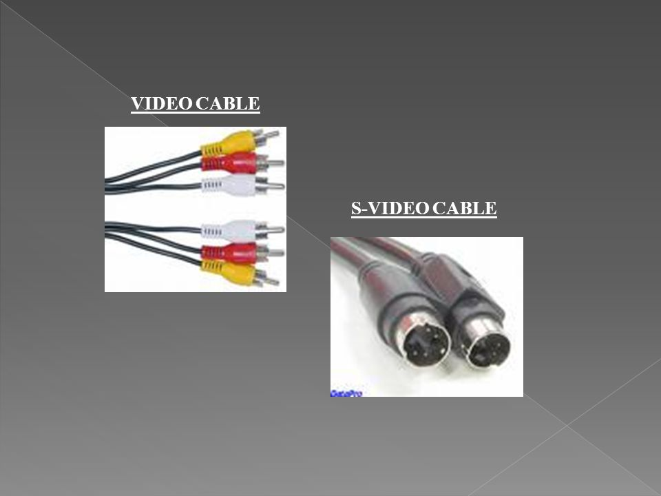 VIDEO CABLE S-VIDEO CABLE
