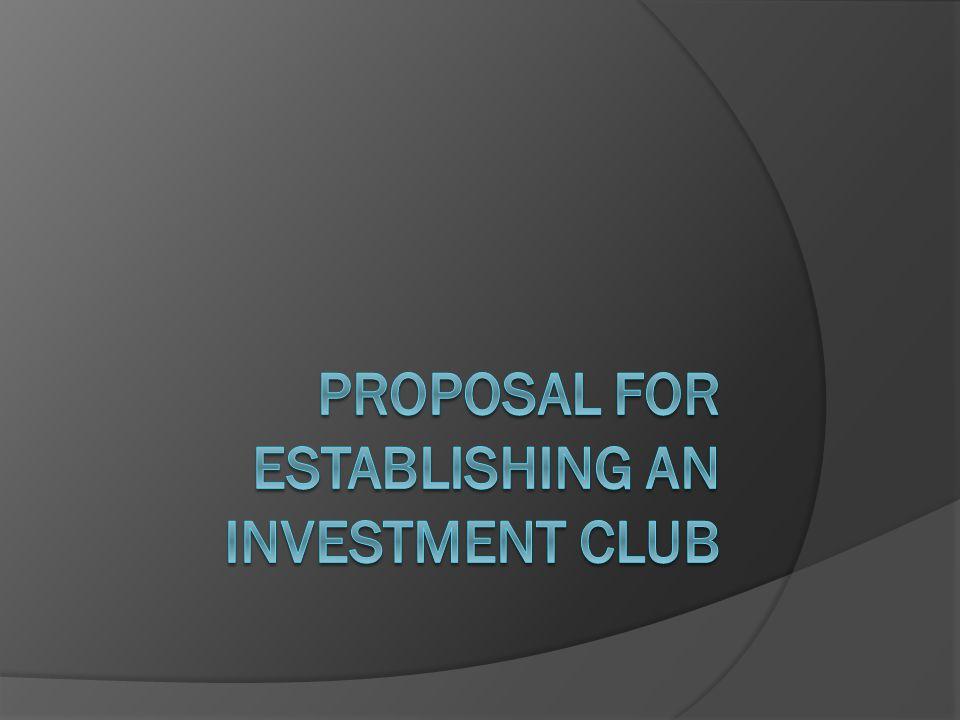 Outline  Background  My Proposal  Investment Opportunities & Scenarios  Responsibilities  Risks & Mitigants  Next Steps