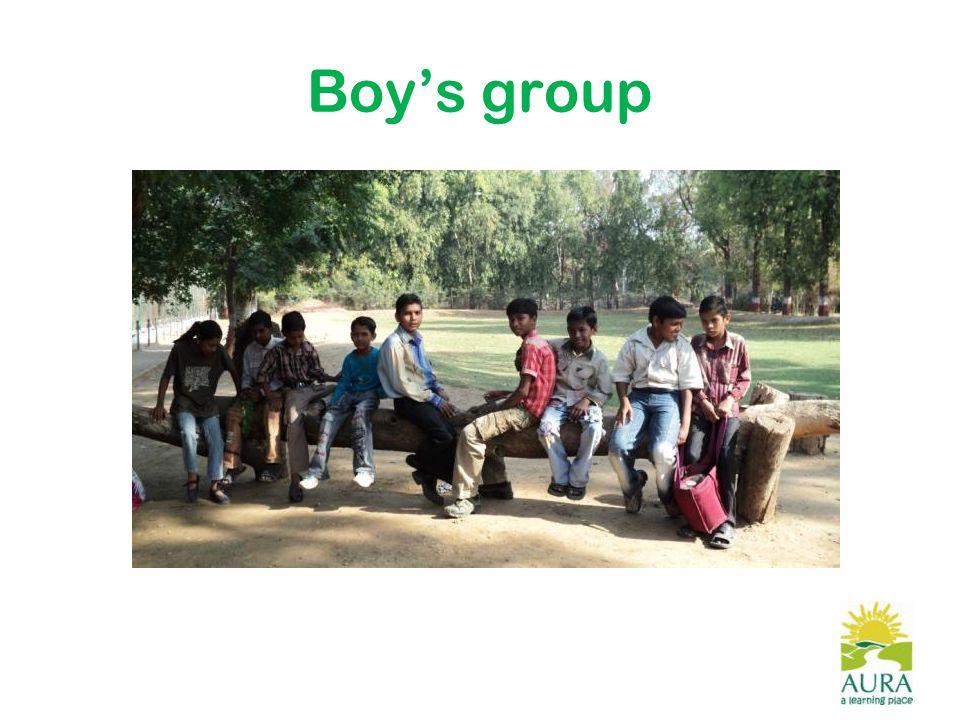 Boy's group