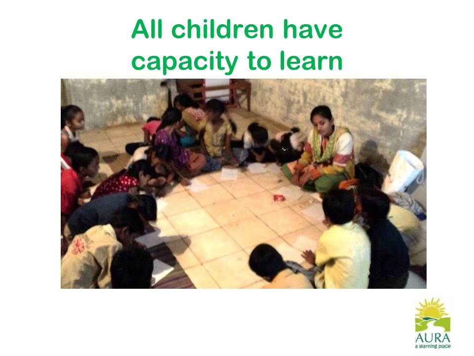 All children have capacity to learn