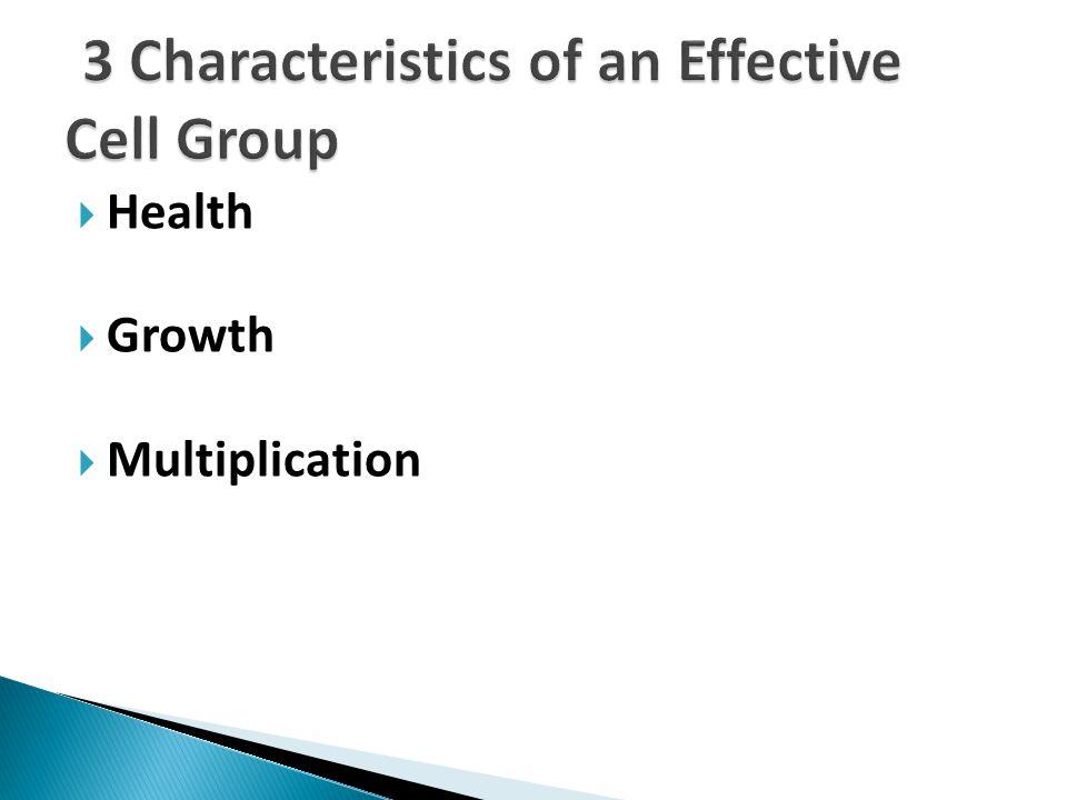  Health  Growth  Multiplication