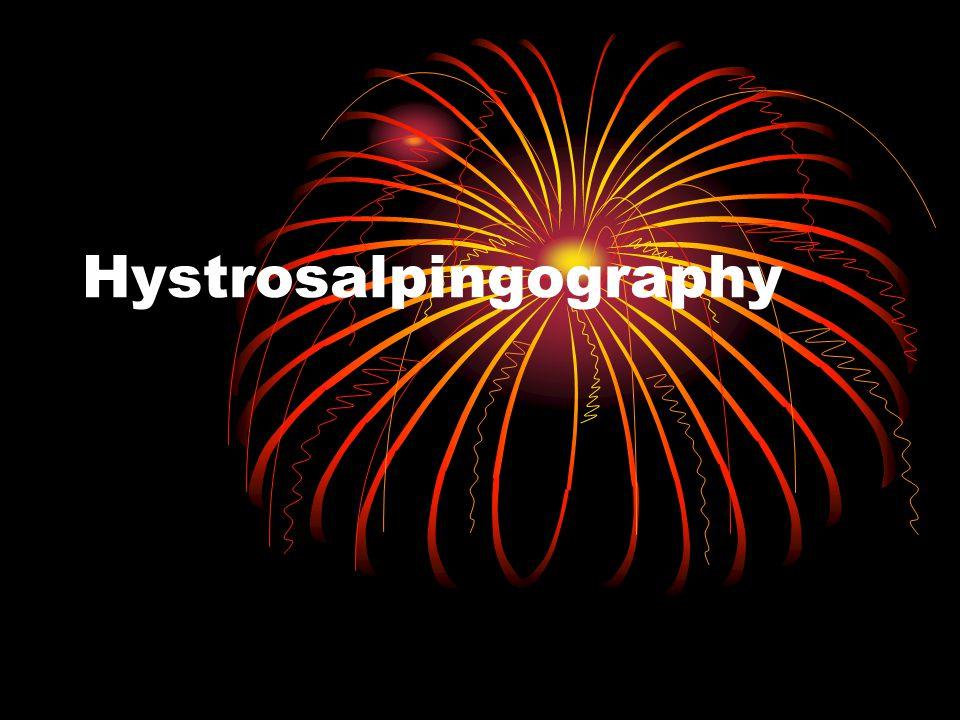 Hystrosalpingography