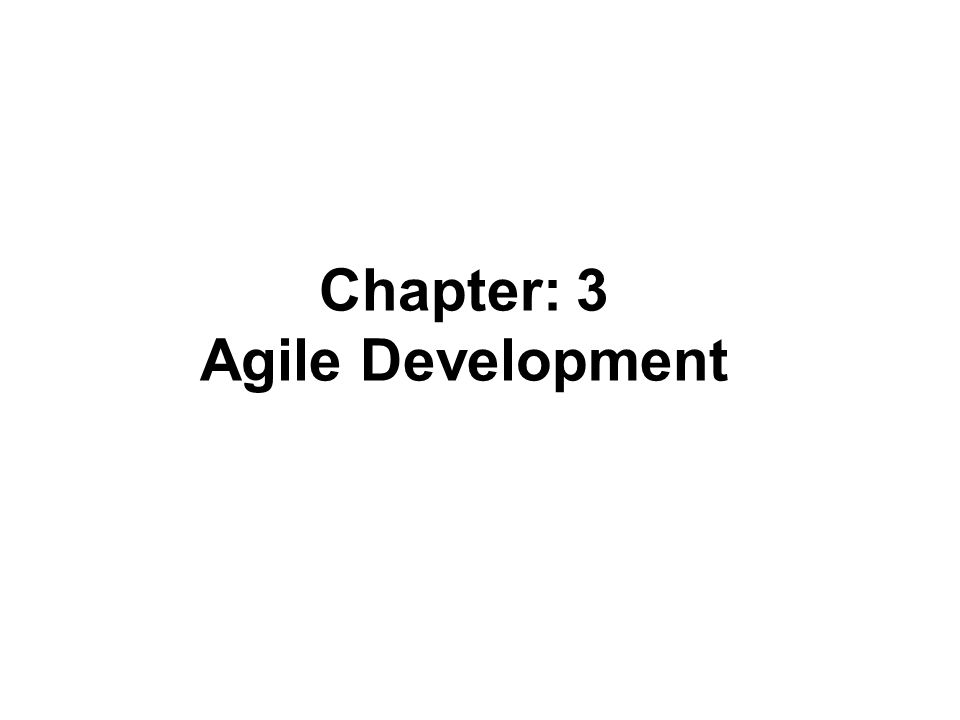 Agile Software Development Agile software development is an iterative and incremental (evolutionary) approach to software development which is performed in a highly collaborative manner by self-organizing teams within an effective governance framework with just enough ceremony that produces high quality solutions in a cost effective and timely manner which meets the changing needs of its stakeholders.