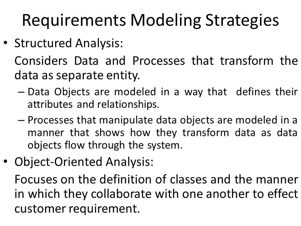 Requirement Modeling For WebApps When the requirements are not properly understood, at that time we perform requirement Modeling