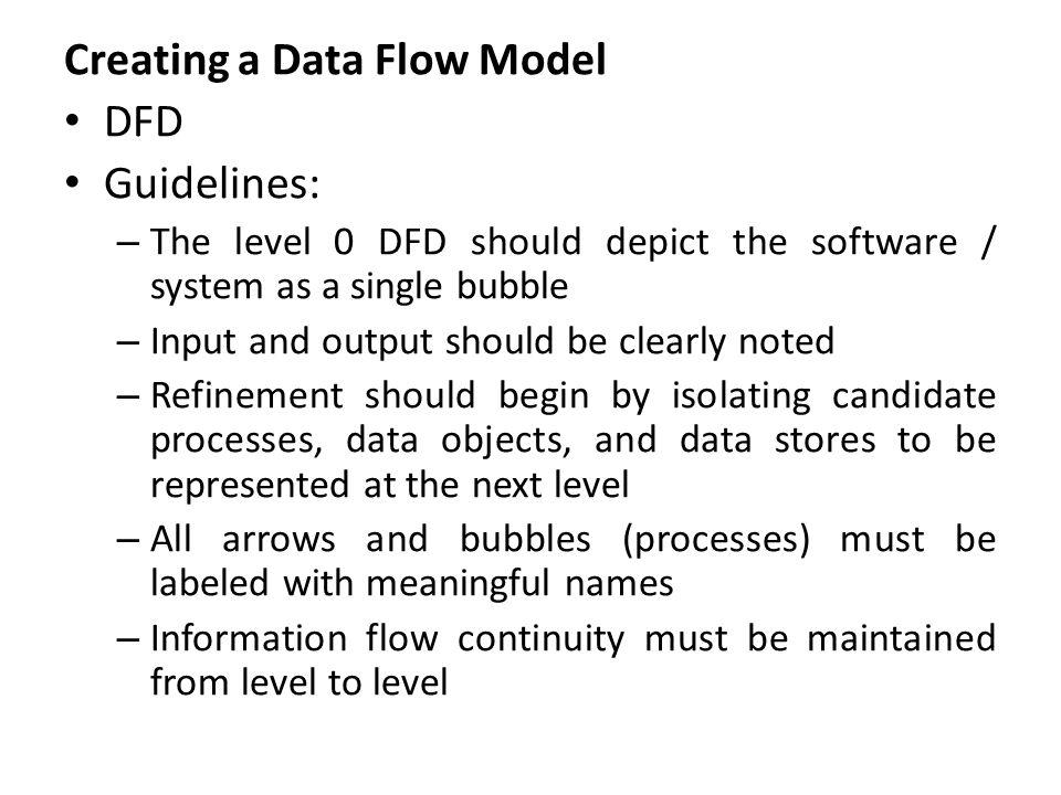 Creating control flow model Large class of applications are also required control flow model apart from data model and DFD.