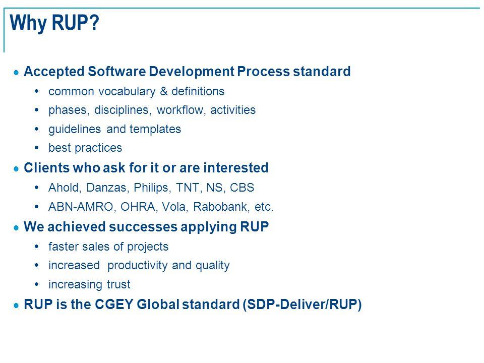 SE Basics v2.0 - 18 Why RUP.