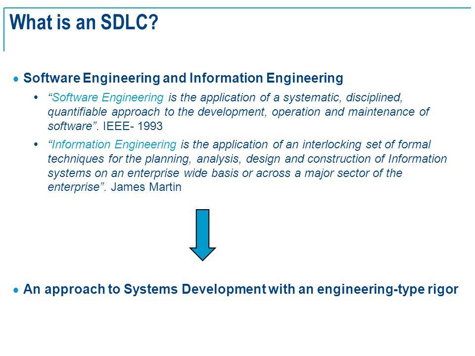 SE Basics v2.0 - 4 What is an SDLC.
