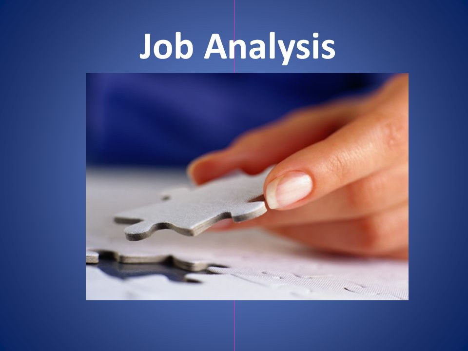 A job analysis is the process used to collect information about the duties, responsibilities, necessary skills, outcomes, and work environment of a particular job.