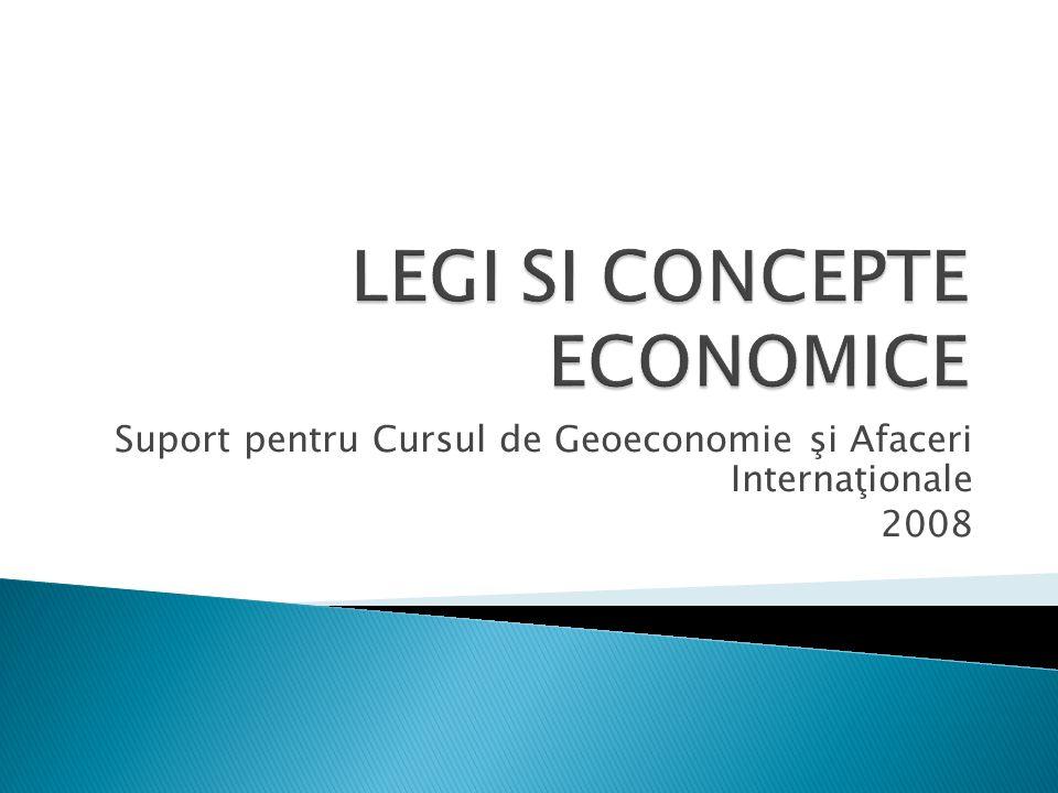 Suport pentru Cursul de Geoeconomie şi Afaceri Internaţionale 2008