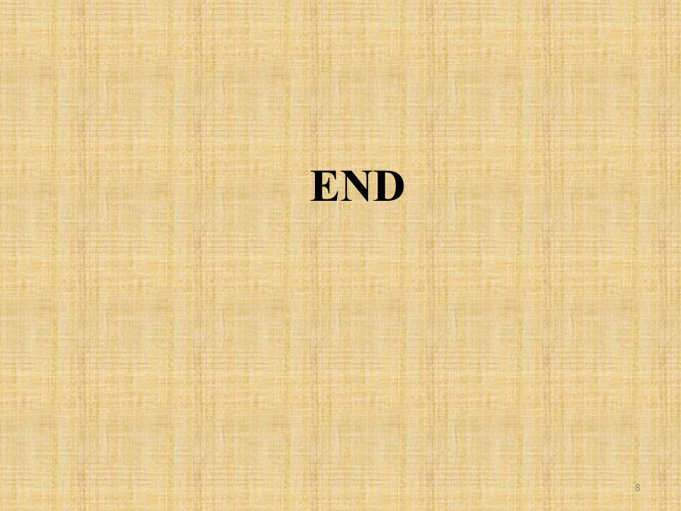 END 8